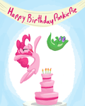Happy Belated Birthday Pinkie Pie by AliasForRent