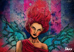Red Faerie by daxxbondoc