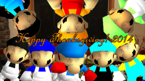Happy Thanksgiving, My Special Friends! :D by Geoffman275