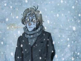 Remus in Winter by Alatariel-Amandil