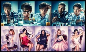 Glee cast by GleekBar1FTW