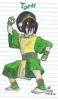 Toph: The Blind Earthbender by msmusic137