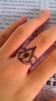 Assassin's Creed IV: Black Flag Tattoo Ring by Shawneigh