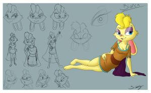 Final Bianca Character Sheet by artfreak5