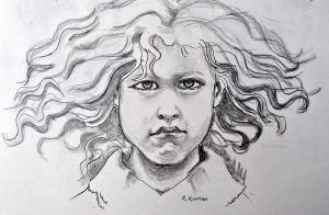Young Girl by Arkinman