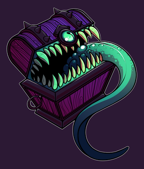Chest Mimic by kaijubrainsDA
