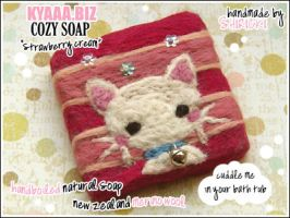 kyaaa.biz Soap - White Cat by shiricki