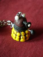 Dalek necklace by ObviouslyCumbersome