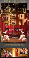 Prom Nignt Flyer Template by Grandelelo
