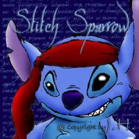 Stitch Sparrow by MooneyeKitsune