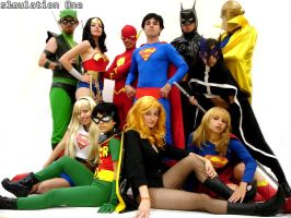 Justice League by s1mulation0ne