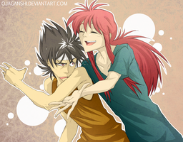 YYH_gimme some love by OJanSan