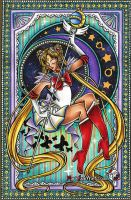 Super Sailor Moon Crystal~ Traditional by MarieJaneWorks