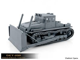 DET-250 (Diesel Electric Tractor) (1) by Opara
