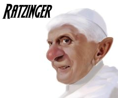 Ratzinger by DeferDog