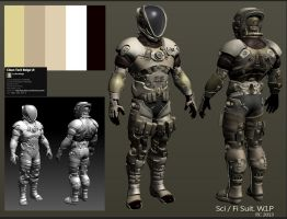 Sci Fi Suit2 by Paka3d