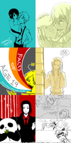 Tegadump: mix...but mostly aph by Chancake