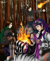 Campfire Nights by TyrineCarver