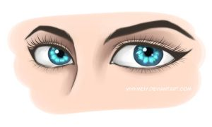 Eyes Practice 1 by whymeiy