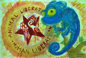 Max Chamaleon and Animal Liberation by MauricioKanno