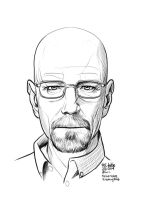 Daily Sketches Heisenberg by fedde