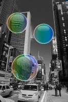 New York Bubbles by Lady-Agony