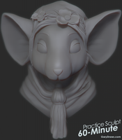 Mouse Queen - 60-Minute Practice Sculpt by GaryStorkamp