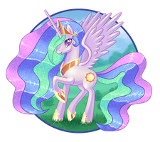 Princess Celestia by AngieR3741