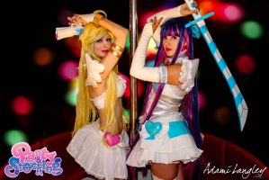 Panty and Stocking Cosplay by adami-langley