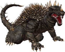 Godzillla The Game: Anguirus by sonichedgehog2
