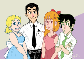 PPG Family Portrait by Slothward
