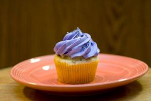 English Sourpuss Cupcake by greensprout