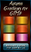 6 Autumn Gradients for GIMP by el-L-eN