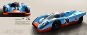 Porsche 917K by GoodrichDesign