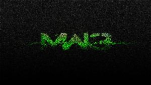 MW3 Wallpaper Logo by checkergermany