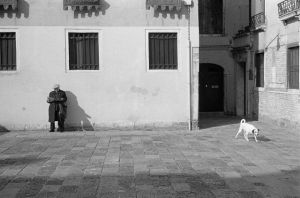 Old lady and dog by multix
