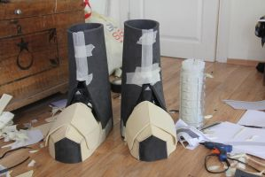 Darksiders WAR Cosplay W.I.P. (Boots 2) by MEG-Cosplay