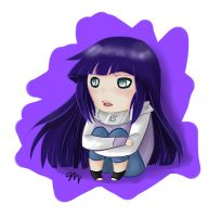Hinata by ashestocrows