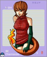 .Charmander for Gijinka. by SamuraiNataku