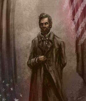 Abrahan Lincoln by edgarsh422
