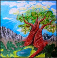 Tree of Tales by MirachRavaia