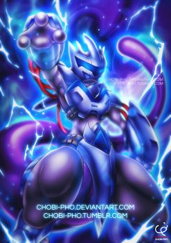 MEWTWO STRIKES BACK by CHOBI-PHO