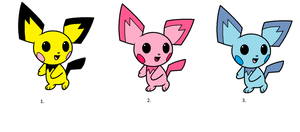 pichu Adoptions by Amber11eevee