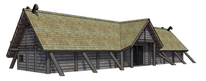 WIP - Viking Longhouse by WraithDouser
