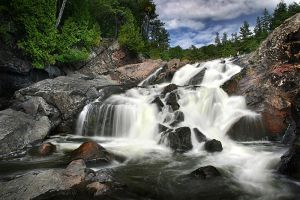 Lower Chippewa Falls by tfavretto