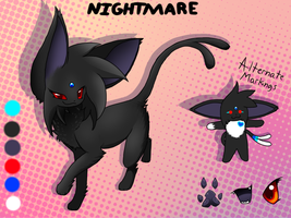 NightMare Reference Sheet by Lynvana