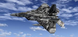Starscream Raptor in FSX 6 by agnott