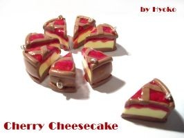 Cherry Cheesecake Charms by Hyo-pon