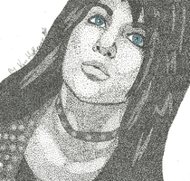 Jinxx Stippled by Eclipsefangirl1