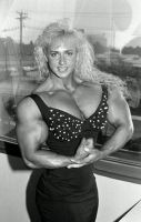 Oldtimer female bodybuilder by cribinbic